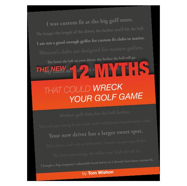 12 mythes materiel de golf